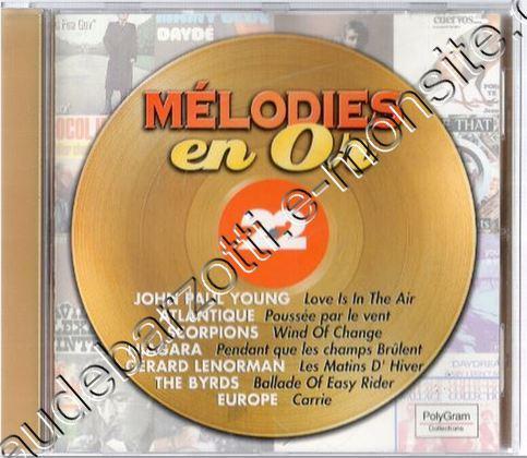CD collection Polygram Mélodies en or N°22