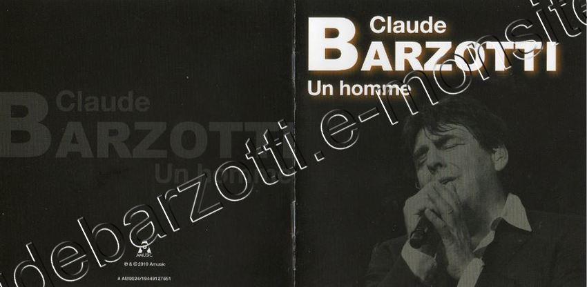 cd album Claude Barzotti Le temps qui passe Canada
